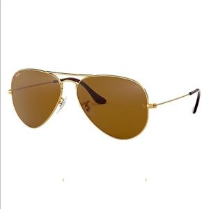 Ray-Ban Aviator Classic Gold/brown classic RB3025